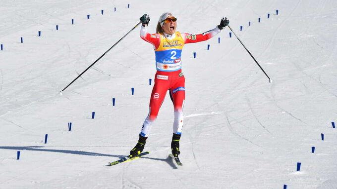 Terese Johaug bilde fra VG Live